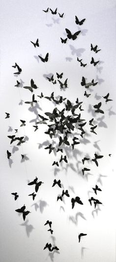 Paul Villinski artwork > birds and butterflies