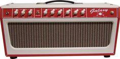 Tone King Galaxy 60W Tube Guitar Amp Head Red