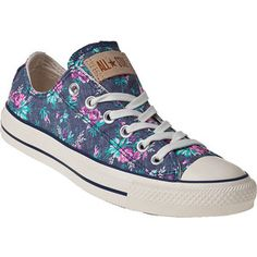 Floral Converse Sneakers