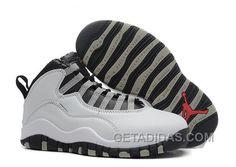"""3bc43a0ec53ed4 Air Jordans 10 Retro """"Steel"""" Shoes For Sale Authentic FhKzDw"""