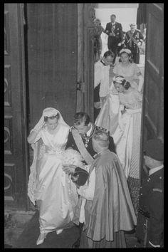 Princess Paola married Prince Albert in 1959 in Brussels.