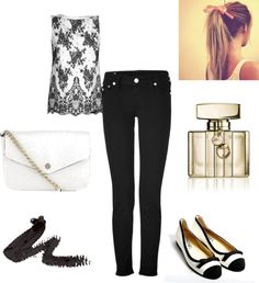 """""""Its black, Its white"""" by caf2403 ❤ liked on Polyvore"""