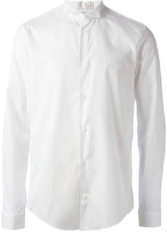 White Longsleeve Shirt by Balenciaga. Buy for $406 from farfetch.com