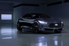 2015 Detroit Auto Show: Infiniti Q60 Concept Brings Bold Styling, Potent New Engine | Popular Science - INFINITI IS UNVEILING A NEW, TWIN-TURBO V6 SPORT COUPE CONCEPT AT THE NORTH AMERICAN INTERNATIONAL AUTO SHOW