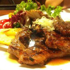 Steak & Salad