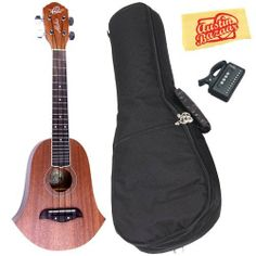 Oscar Schmidt by Washburn OU2BELL Limited Edition Bell-Shaped Concert Ukulele Bundle with Gig Bag, Tuner, and Polishing Cloth by Oscar Schmidt. $89.95. Bundle includes Oscar Schmidt by Washburn OU2BELL Limited Edition Bell-Shaped Concert Ukulele, Gig Bag, Tuner, and Polishing Cloth. Oscar Schmidt and their team of professional luthiers are proud to present the limited edition OU2BELL Concert Ukulele. The OU2BELL features a unique, retro bell shape that is an homage to the uk...