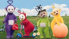 teletubbies | Teletubbies. Who Was Inside the Costumes (12 pics)