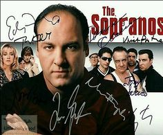 Reprint photo of an original autographed photo. Photo is printed on Professional Lab Photo Paper. Sopranos Cast, Charles Woodson, Poster Prints, Posters, Tv Series, It Cast, Hollywood, Ebay, Things To Sell