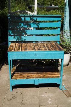 cute garden bench