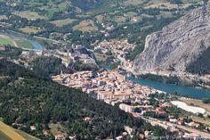 Photo aérienne de Sisteron - Alpes-de-Haute-Provence (04)
