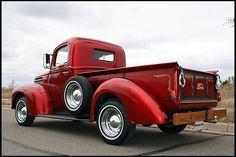 1946 Ford F1 Pickup Flathead V-8, All Steel  #Mecum #Monterey