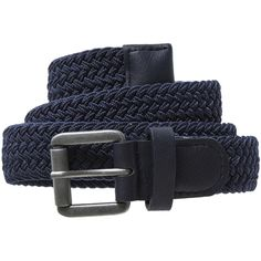 Interwoven belt ($12) ❤ liked on Polyvore featuring accessories, belts, loop belt, stretchy belts, stretch belt and elastic belt