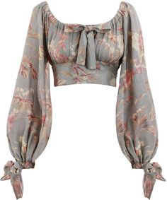 Shop for Unbridled Maiden Blouse by Zimmermann at ShopStyle. Look Fashion, Womens Fashion, Fashion Design, Retro Fashion, High Fashion, Fashion Trends, Stylish Blouse Design, Looks Chic, Mode Inspiration