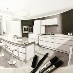 ✏️✏️✏️ Merci winsor&newton pour les feutres #draw #sketch #handmade #handsketch #dessin #promarker #arquitatepage #interior #design #architecture #architecturestudent @arquitetapage @arquisemteta @arch_more @gekkoe @boglearchitects @arts_help @abillustrator @ar.sketch @sketch_arq