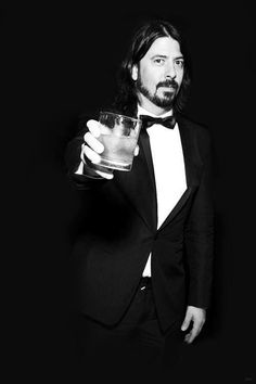 Oh my.. Dave in a suit