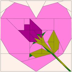 PP heart & rose image only