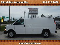 Used 2013 Chevrolet Express 2500 Cargo for Sale in Myrtle Beach SC 29577…