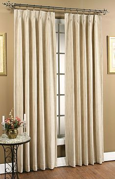 How to Extend Double Traverse Curtain Rod — Cento Ventesimo Decor Curtains And Draperies, Pleated Curtains, Velvet Curtains, Lined Curtains, Silk Drapes, Blackout Curtains, Drapery, Thermal Drapes, Pinch Pleat Curtains