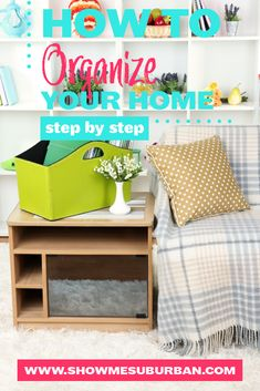 Want to get organized, but not sure how? Check out this simple step by step process for how to organize any area of your home! These tips and ideas will help you declutter, purge, and organize your way to bliss! Organized Entryway, Organized Bedroom, Organized Kitchen, Entryway Organization, Laundry Room Organization, Paper Organization, How To Organize Your Closet, Declutter Your Home, Organizing Your Home