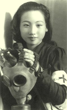 beautiful japanese girl in the atomic era