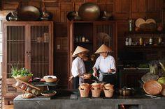 vietnames kitchen, a great idea for restaurant design