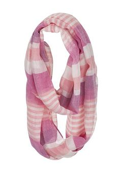 Accessories Under $20: multi stripe infinity scarf (original price, $14) available at #maurices