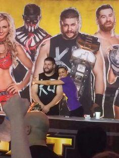 Bayley Hugging & Kevin Owens NXT