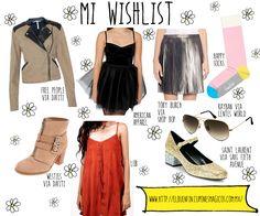 Mi lista de deseos / wishlist para el buen fin de México. Todo de cupones mágicos - Oh my Dior - Beautiful Fashion Blog post