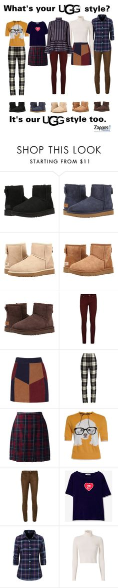 """""""The Icon Perfected: UGG Classic II Contest Entry"""" by ice-cream-is-nice-cream ❤ liked on Polyvore featuring UGG Australia, UGG, Paige Denim, La Marque, MaxMara, Lands' End, Pull&Bear, A.L.C., Le Sarte Pettegole and ugg"""