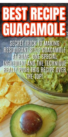 How To Make Sauce, How To Make Dip, Best Guacamole Recipe, Homemade Guacamole, Oven Fried Chicken, Fried Chicken Recipes, Aladdin Halloween, Great Recipes, Favorite Recipes