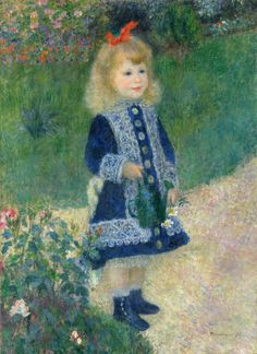 Auguste Renoir Poster A Girl With A Watering Can