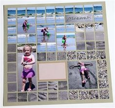 at the Beach  ~~  way too complicated for me - but adorable!!