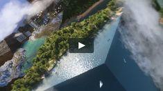 Honda - Block - Lake To City by Nexus Studios 3d Video, Paper Place, Galaxy Art, Inspirational Videos, Motion Design, Medium Art, Graphic Design Inspiration, Concept Art, Honda