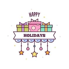 68/365 #drawing #draweveryday #illustration #illustrator #vector #present #art #digitalart #presents #card #greeting #happyholidays #gifts #365daysofdrawing #365days #365днейрисования #365дней #рисунок #подарки #открытка