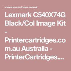Lexmark C540X74G Black/Col Image Kit - Printercartridges.com.au Australia - PrinterCartridges.com.au