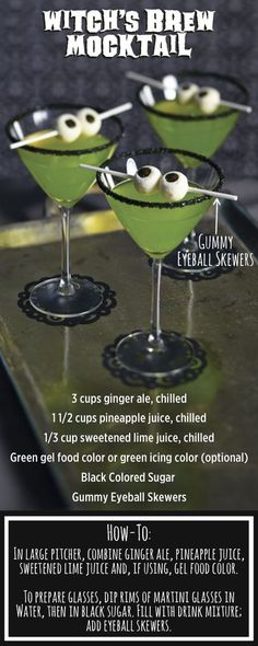 17 Fun Ideas for Halloween Drinks