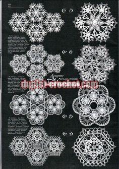 Duplet 174 Ukrainian Russian new crochet patterns magazine book August 2015