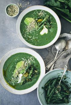 Creamy Spinach Soup   Our New Book!