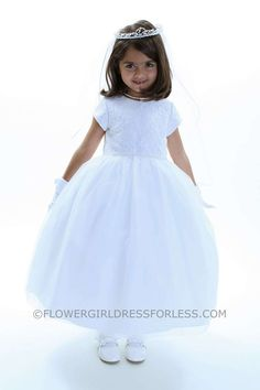 US Angel Flower Girl Dress Style 275