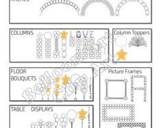 Prezzi Flyer stile B. pub e. pdf include di BalloonArtClipArt
