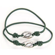 Women's Philadelphia Eagles Stretch Bracelet/Hair Tie Set $8.95
