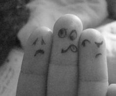 Ten'Ten Talk: finger faces