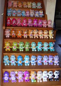 If You Kept Any Of These 10 Classic Toys…SURPRISE! You're Rich! Complete Care Bears Collector Set - $8,295