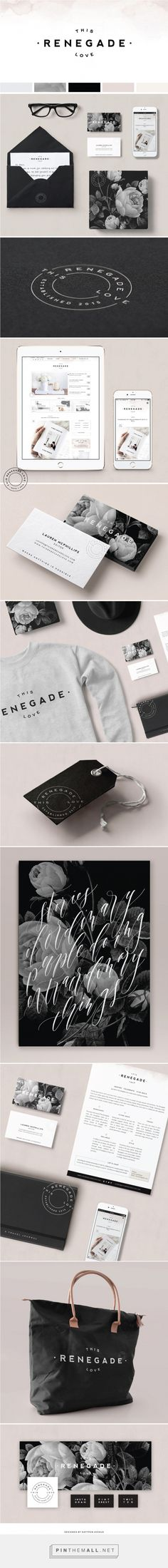 This Renegade Love Lifestyle Branding by Saffron Avenue | Fivestar Branding Agency – Design and Branding Agency & Curated Inspiration Gallery