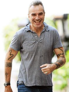 Daniel Day-Lewis' tattoos