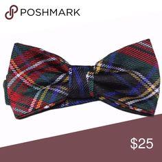 000e29ef7921 Mens Tartan Bow Tie Plaid Cotton Blend Men's Cedar Wood State brand new  men's tartan plaid
