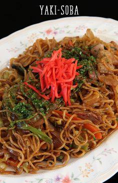 Japanese Street Yakisoba Recipe