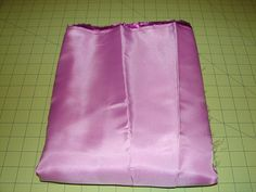 Pink Satin Fabric by ValeriesQuilts on Etsy, $5.00