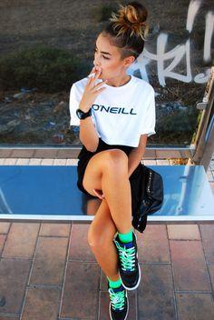 Look: Deportivas Nike - Tania Morenilla - Trendtation