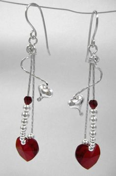 Love Drop Earrings